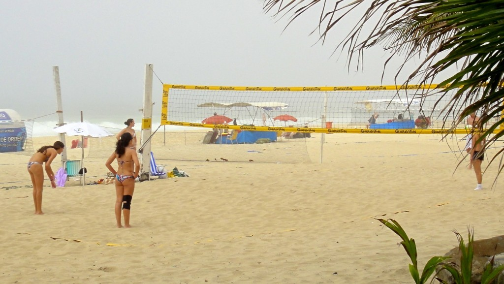 Beach Volley sur la plage d'Ipanema