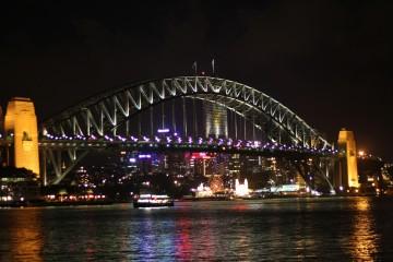 Harbour Bridge de nuit