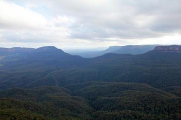 Les Blue Mountains vues depuis Echo Point