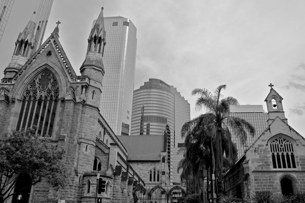 Quelque part dans le centre-ville de Brisbane