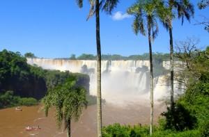 Le parc national des chutes d'Iguazú