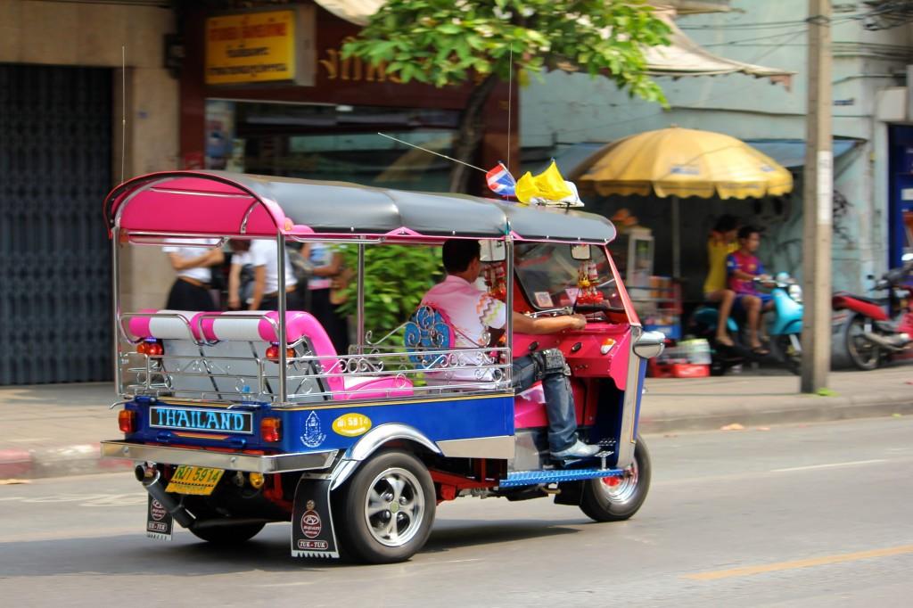 Tuk tuk thaïlandais