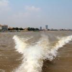 Départ en ferry de Phnom Penh pour le Vietnam
