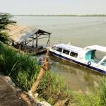 Poste de frontière entre le Cambodge et le Vietnam