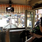 Navette gratuite officielle du côté cambodgien pour se rendre à la gare routière
