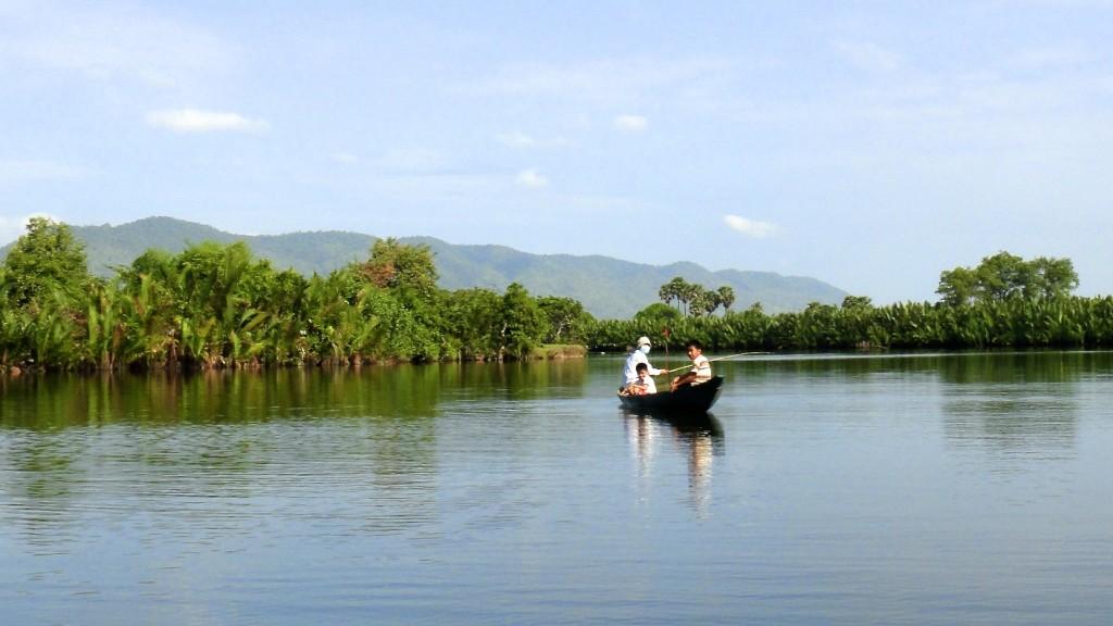 A la rencontre des pêcheurs en canoë