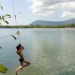 Nico ou Tarzan au dessus du fleuve