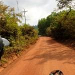 Route secondaire de l'île