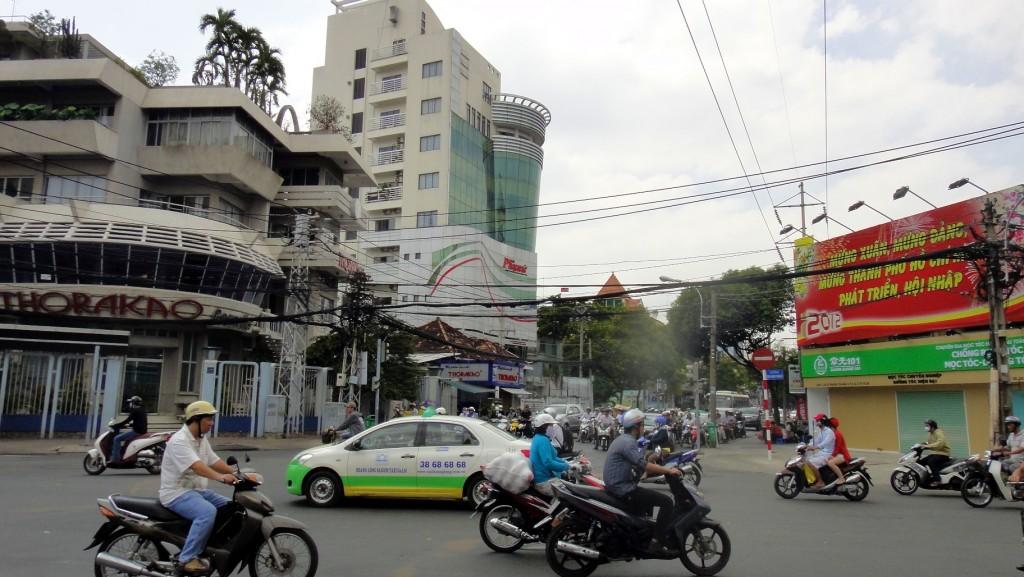 Traffic dans Ho Chi Minh
