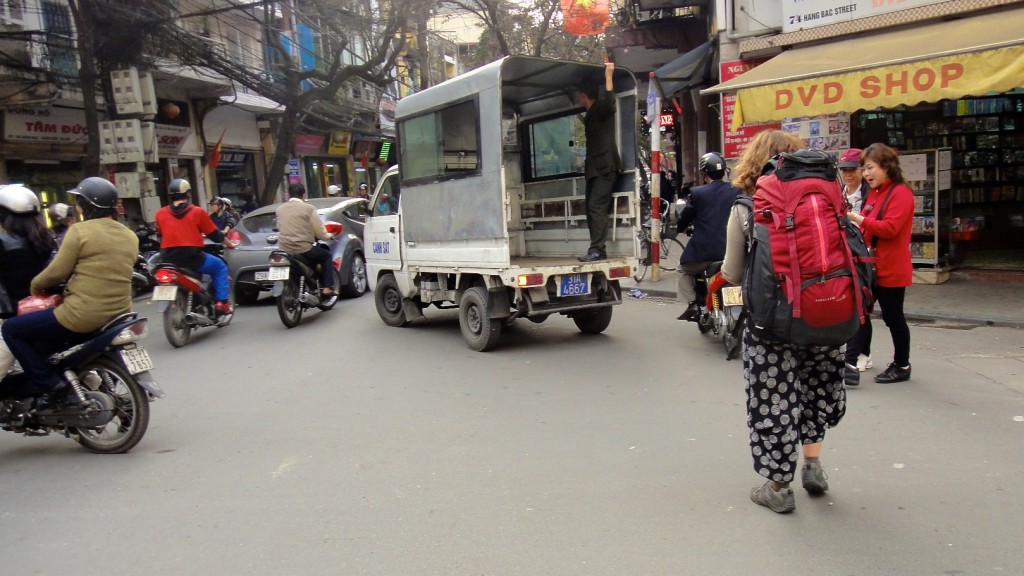 A pied dans les ruelles du vieux Hanoï