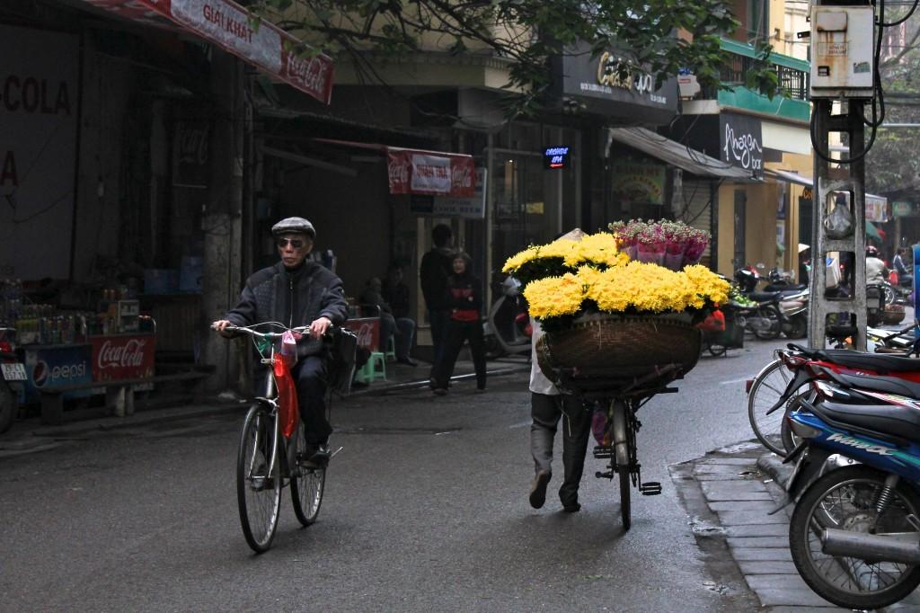 Vietnamiens en vélo