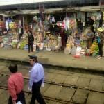Gare de train quelque part entre Ho Chi Minh et Hué