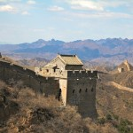 Tour de guet restaurée à Jinshaling