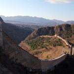 La muraille mesure en moyenne 6 à 7 mètres de haut et 4 à 5 mètres de large