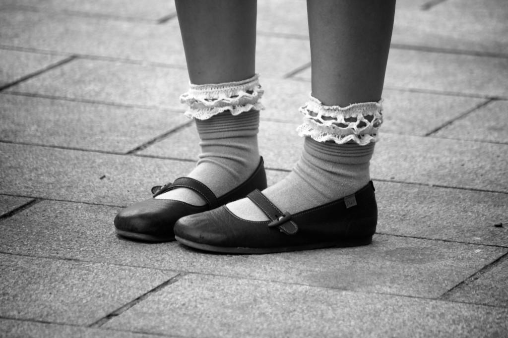 Chaussettes à volants