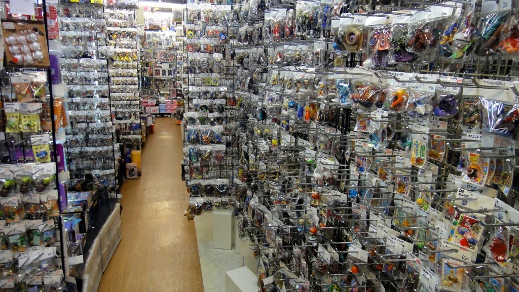 Boutiques de porte-clés / figurines de héros japonais