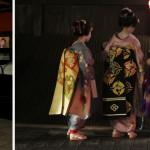 Geishas dans les rues de Gions