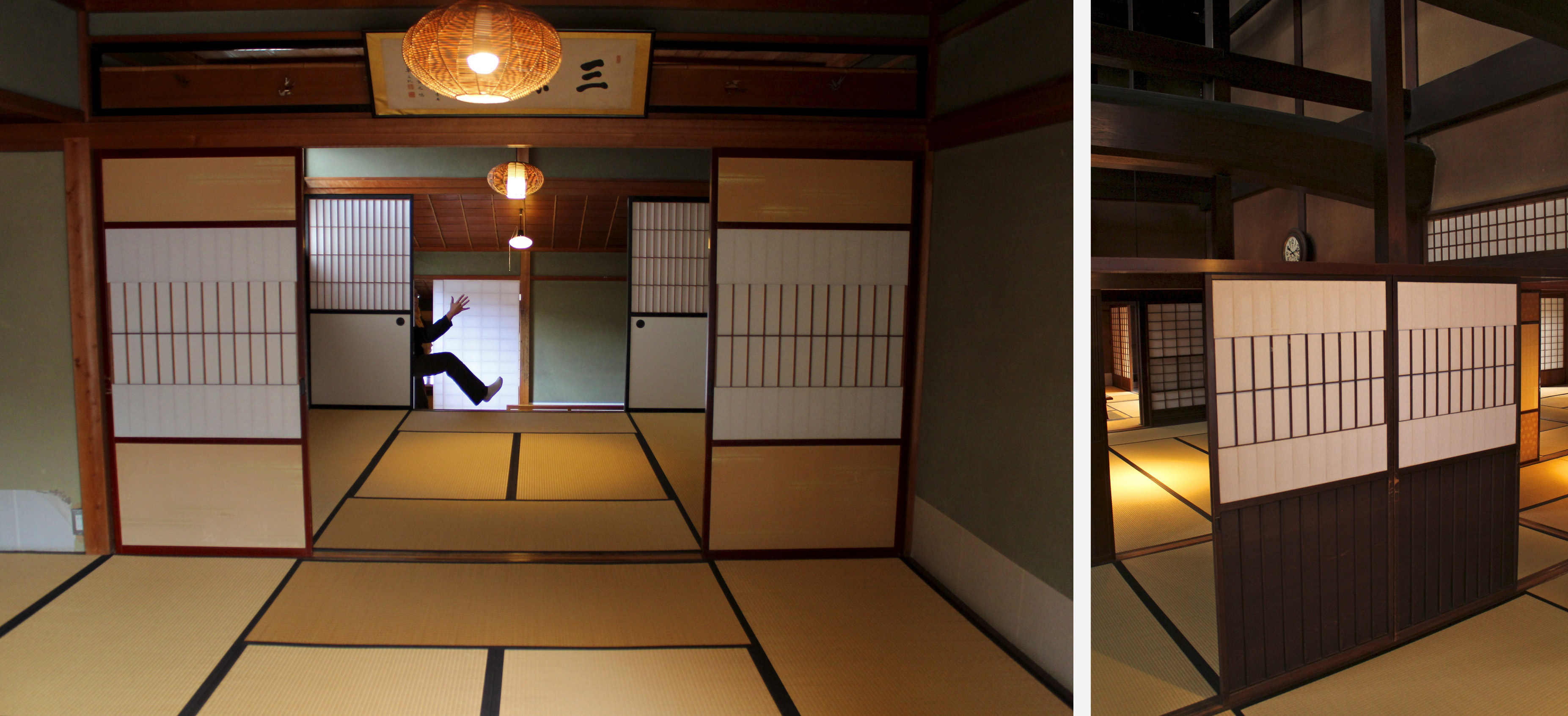 Maison traditionnelle yoshijima ke takayama for Salle de bain japon