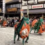 Danse des dragons à Takayama
