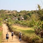 Paysage et village autour de Kalaw