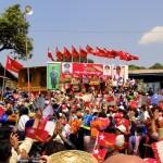 Elocution de Aung San Suu Kyi pour la campagne des législatives partielles