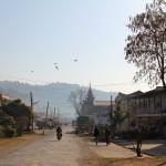 Rue centrale de Kalaw