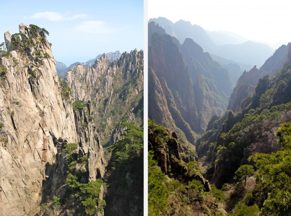 Quelques uns des magnifiques points de vue au sommet