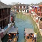 Canal dans le village de Zhujiajiao