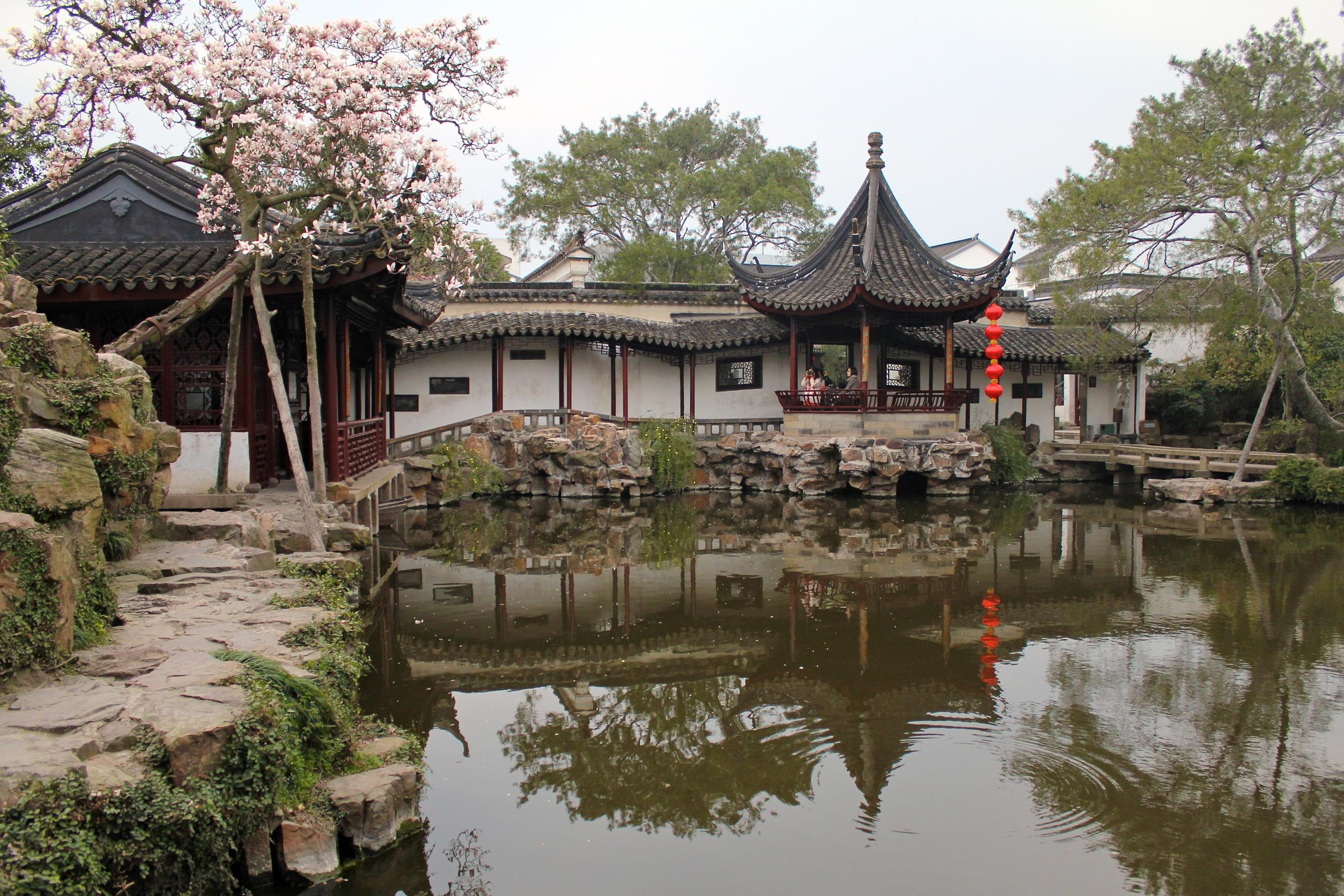"""Jardin chinois de """"la Politique des Humbles""""  Suzhou"""