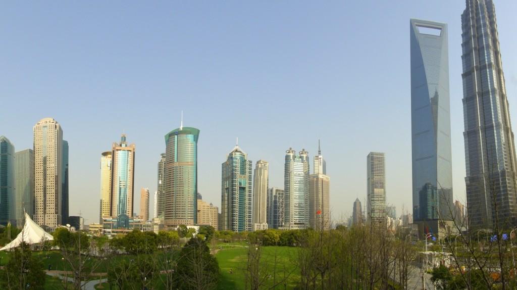 Pudong, le quartier d'affaires de Shanghai