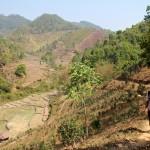 Montagnes de Kyaukme