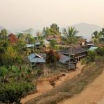 Village shan où nous avons dormi