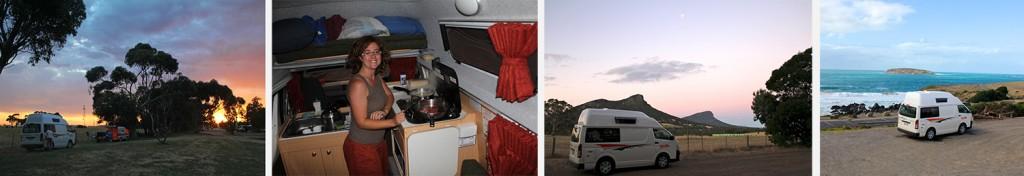 En campervan sur une aire d'autoroute ou au bord de la mer, la nuit promet d'être palpitante