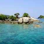 Un spot de snorkeling près d'une île aux alentours de Koh Chang