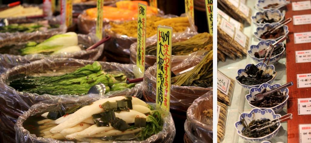 Tsukemono et pickles