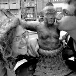 Bisous bisous petit sumo en bronze !