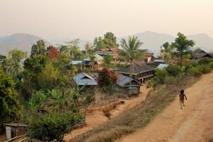 Trek dans les montagnes de Kyaukme