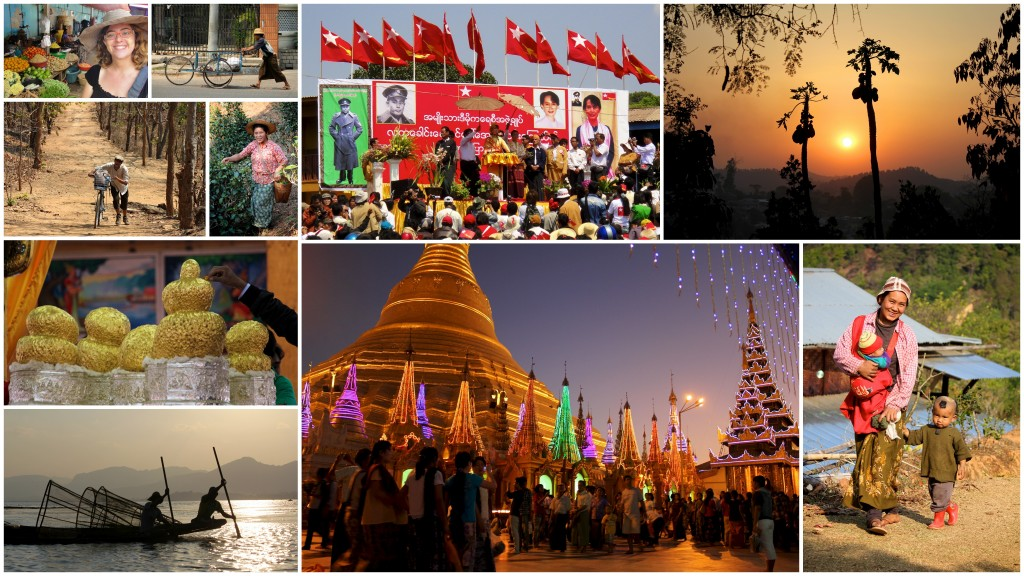 Ici ou ailleurs en Birmanie