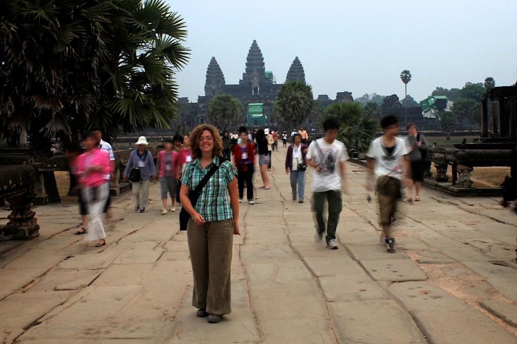 De passage à Angkor...