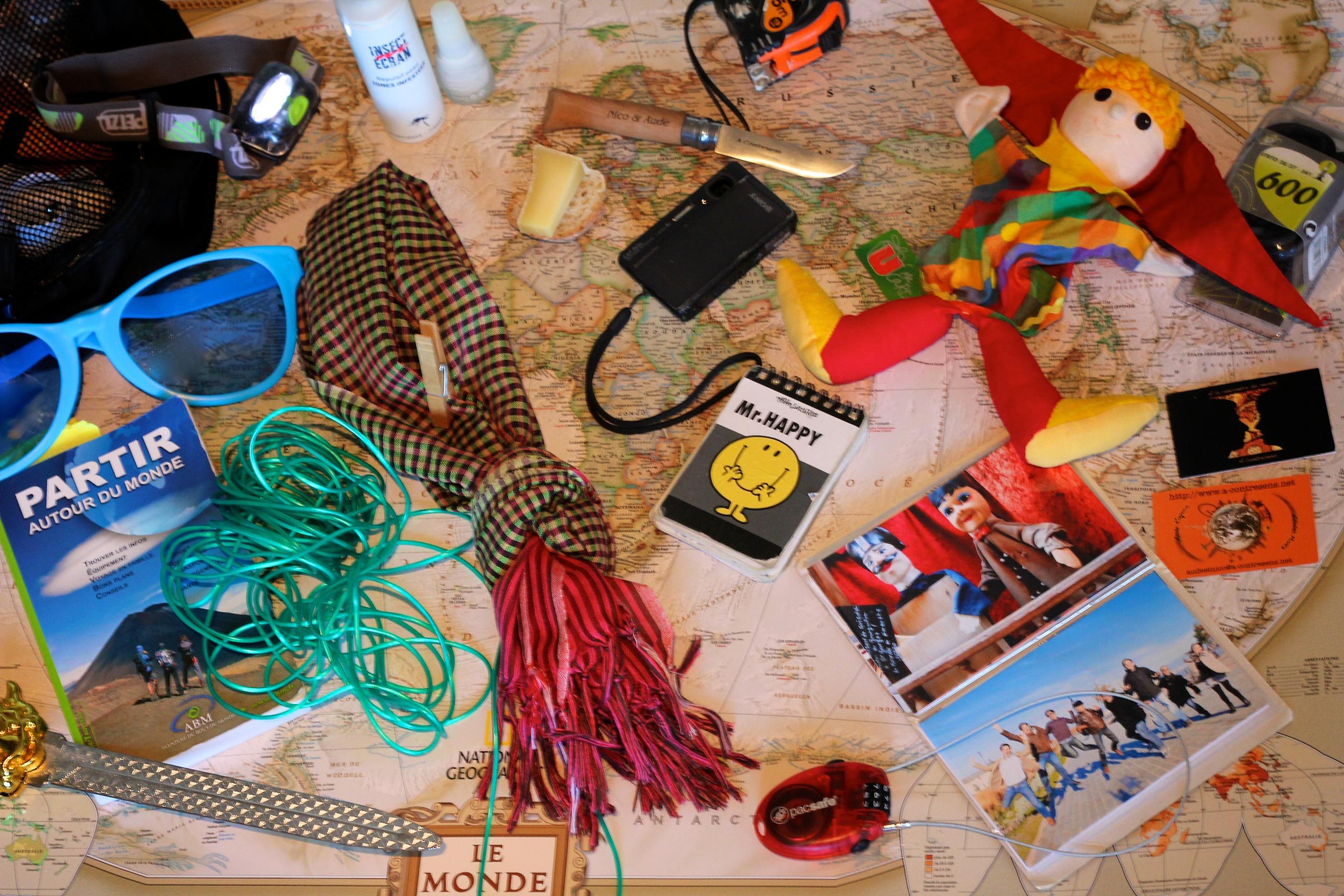 18e76b0547 Comment préparer son sac à dos pour un tour du monde ?