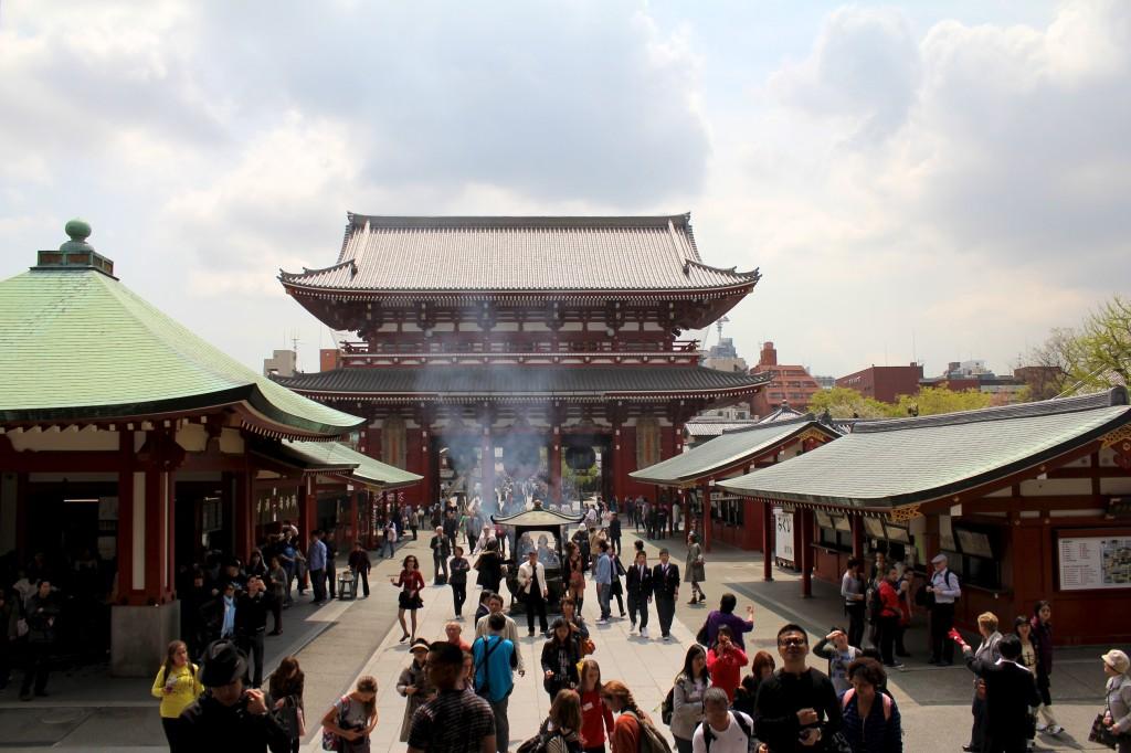 Temple Senso-Ji à Asakura
