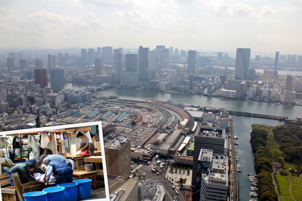 Marché au poisson de Tsukiji