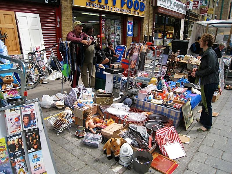 Brick Lane Market, east London