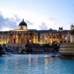 Trafalgar Square, lieu de rendez-vous fétiche des anglais