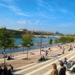 Balade sur les quais du Rhône