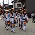 Défilé lors du festival de Takayama