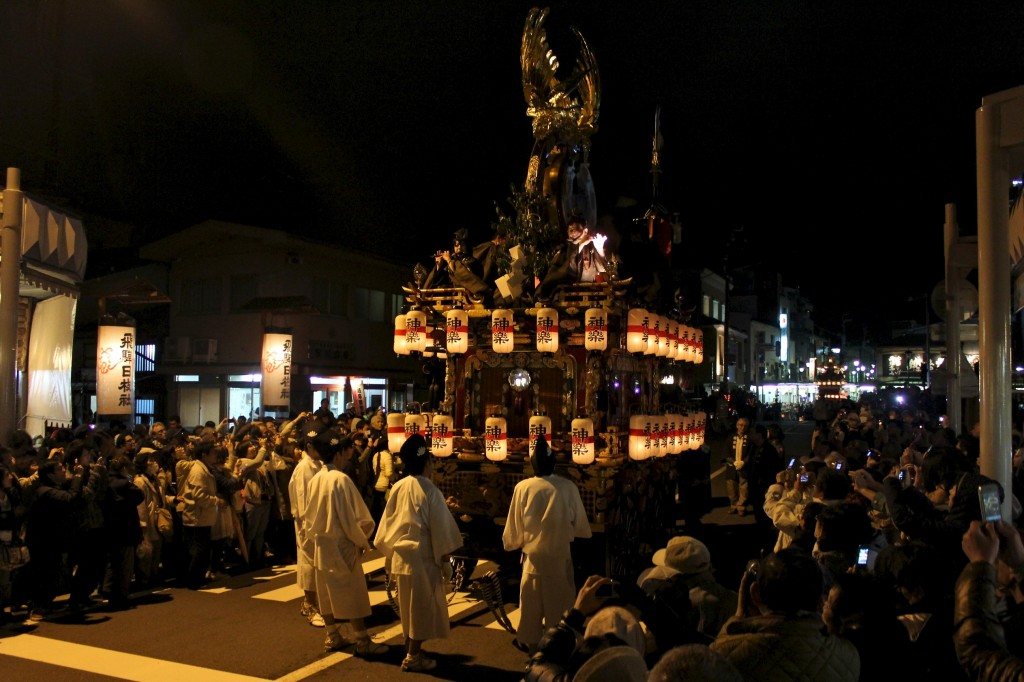 Procession des chars lors du Sanno Matsuri à Takayama