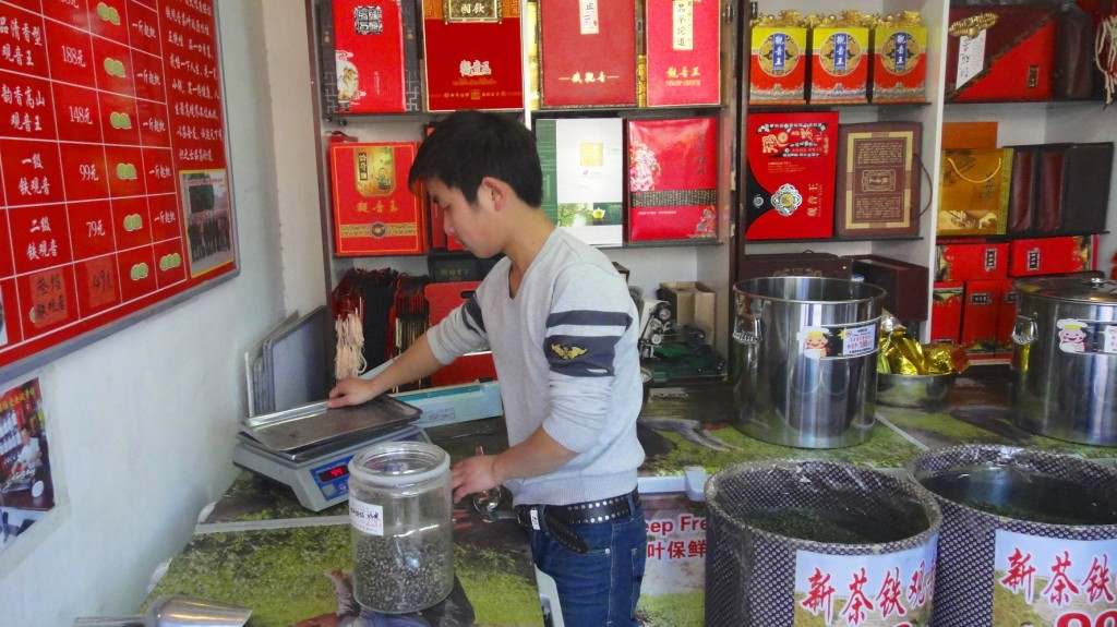 Boutique de thé chinois