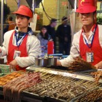 Marché de nuit à Dong'Anmen Dajie