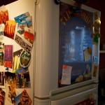 Notre frigos bien décoré